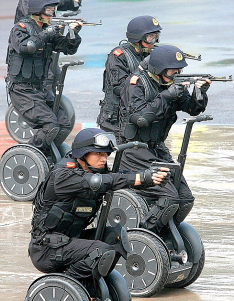Image result for military on segways
