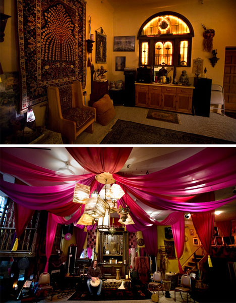 converted-underground-home-interior